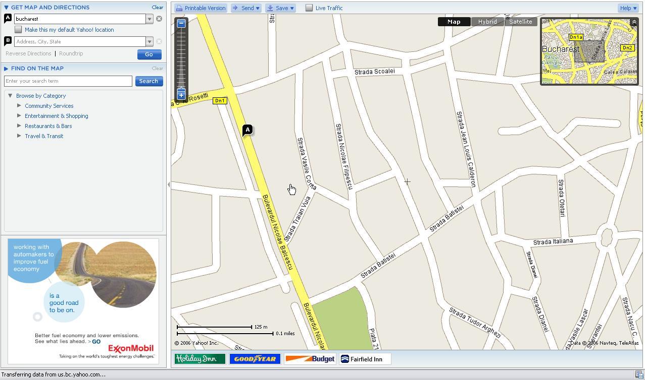 Yahoo Map