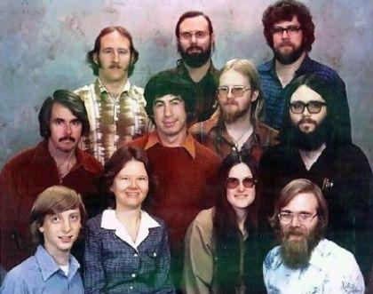Microsoft Staff 1978