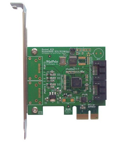 Highpoint Rocket 600 SATA PCI Express cards